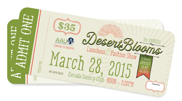 Desert Blooms Fashion Show March 28, 2015